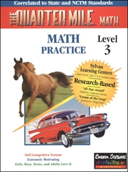 Quarter Mile Math Level 3