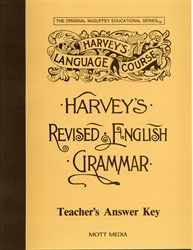 Harvey's Revised English Grammar - Answer Key