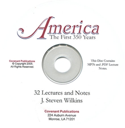 America: The First 350 Years - MP3 CD