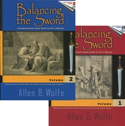 Balancing the Sword Bible Study Set - Exodus Books