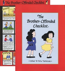 Brother-Offended Checklist (small, color, laminated)