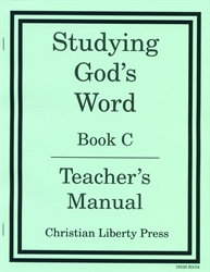 Studying God's Word C - Answer Key