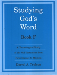 Studying God's Word F