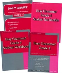 Easy Grammar Grade 4 - Home School Bundle