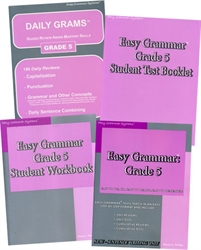Easy Grammar Grade 5 - Home School Bundle
