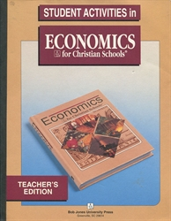 Economics - Student Activities Teacher Edition (old)