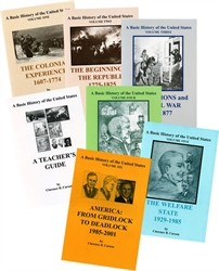 Basic History of the United States - Complete Set with Teacher's Guide - Exodus Books