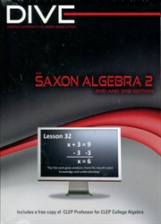 DIVE Algebra 2 CD-ROMs (2nd & 3rd Edition)