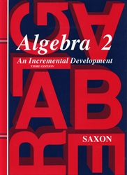 Saxon Algebra 2 - Textbook