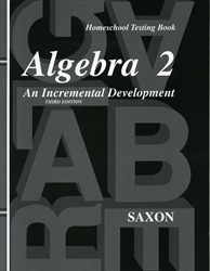 Saxon Algebra 2 - Test Forms