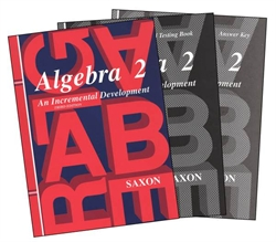 Saxon Algebra 2 - Home Study Kit