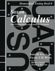 Saxon Calculus - Test Forms