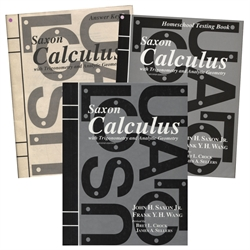 Saxon Calculus - Home Study Kit