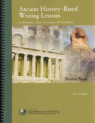 Ancient History-Based Writing Lessons - Student Book - Exodus Books