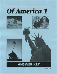 Of America 1 - Answer Key (old)