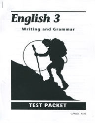 English 3 - Tests - Exodus Books