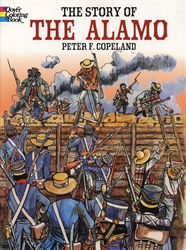Story of the Alamo - Coloring Book