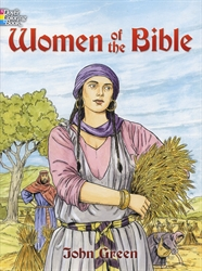 Women of the Bible - Coloring Book