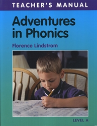 Adventures in Phonics Level A - Teacher Manual (old)