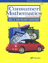 Consumer Mathematics - Skills & Review Teacher Key
