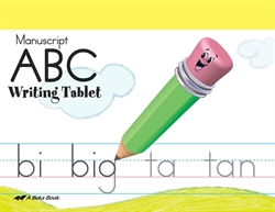 ABC Writing Tablet - Manuscript