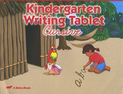 Kindergarten Writing Tablet - Cursive