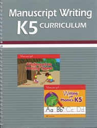 K5 Manuscript Lesson Plans