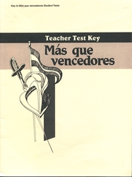 Spanish 2 - Test Key