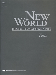 New World History & Geography - Test Book (old)