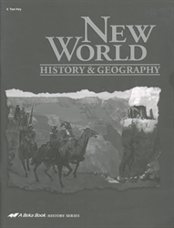 New World History & Geography - Test Key (old)