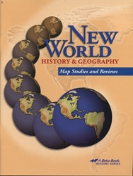 New World History & Geography - Map Studies and Review Book (old)