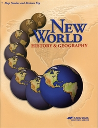 New World History & Geography - Map Studies and Review Key (old)