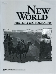 New World History & Geography - Quiz Key (old)