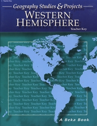 Geography Studies & Projects of the Western Hemisphere - Key (old)