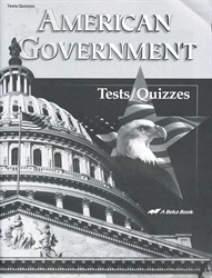 American Government - Test/Quiz Book