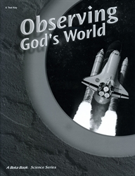 Observing God's World - Test Key (old)