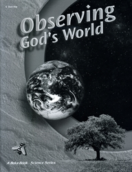 Observing God's World - Quiz Key (old)