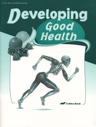 Developing Good Health - Test/Quiz Key (old)