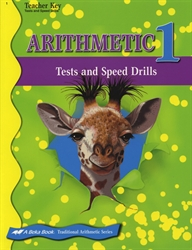 Arithmetic 1 - Tests & Speed Drills Key (old)