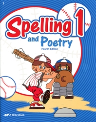 Spelling and Poetry 1 - Workbook - Exodus Books