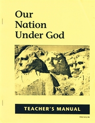 Our Nation Under God - Teacher Manual