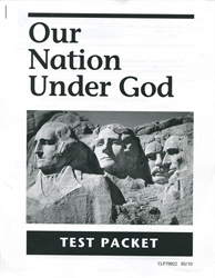 Our Nation Under God - Tests