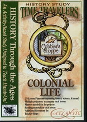 Time Travelers: Colonial Life - CD-ROM