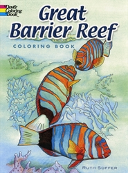 Great Barrier Reef - Coloring Book