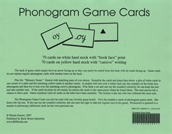 Phonogram Game Cards