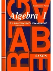 Saxon Algebra 1 - Answer Key only