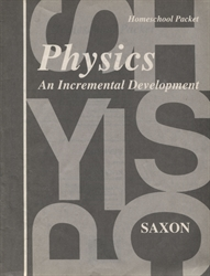 Saxon Physics - Answer Key only