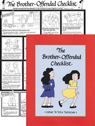 Brother-Offended Checklist (large chart) - Exodus Books