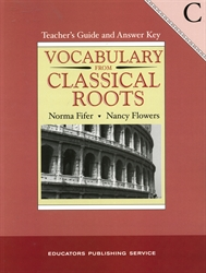 Vocabulary From Classical Roots C - Teacher Edition