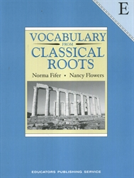 Vocabulary From Classical Roots E